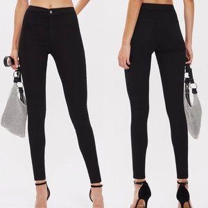 Topshop Black Joni Jeans 30x30. Price Is Firm.